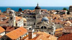 City walls of Dubrovnik - Dubrovnik,Croatia.