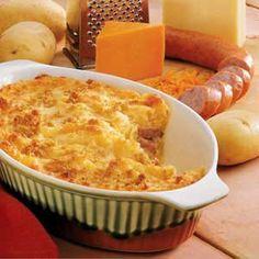 Smoked Sausage Potato Bake Recipe