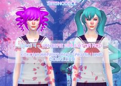Sims 4 Mod - Kokona Haruka Saki Miyu Download by xxSnowCherryxx on DeviantArt