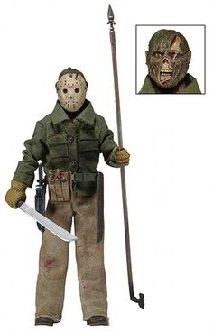 Friday the 13th Part 6 Jason action figure from NECA!
