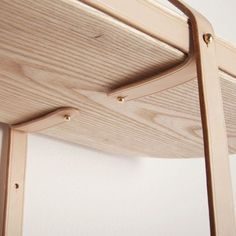 thedesignwalker:  wood, leather, brass