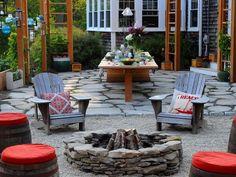 Fire Pit Design Ideas : Home Improvement : DIY Network