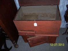 A very early 1800's possible late 1700.s DUTCH DRY SINK.   a great looking piece