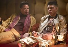 Terrence Howard and Bryshere Gray in 'Empire' Serie Empire, Empire Cast, Empire Fox, Newest Tv Shows, New Shows, Favorite Tv Shows, Lucious Lyon, Pilot, Empire Season