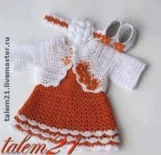 8fadece16 Crochet Baby Clothes, Baby Girl Crochet, Newborn Crochet, Crochet Dress  Girl, Crochet