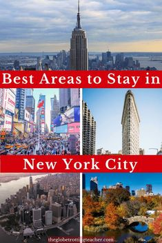 Searching for where to stay in New York City? Written by a local, this guide shares the best areas to stay in New York City and top NYC hotels in each area. Manhattan Hotels, Nyc Hotels, New York Hotels, Lower Manhattan, New York Vacation, New York City Travel, New York City Trip, Central Park, Empire State Building