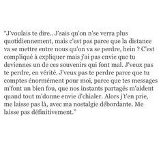 J'ai juste besoin d'amour.