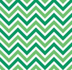 Zig Zags Chevrons Background Green