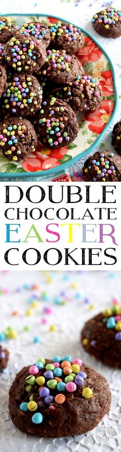 Double Chocolate Easter Cookies - Lord Byron's Kitchen