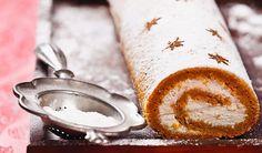Typicky zimná: Mrkvovo-škoricová roláda | DobreJedlo.sk