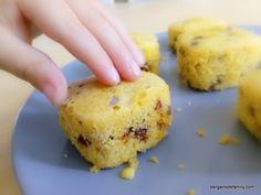 Petits cakes chocolat raisins secs à la multidelices