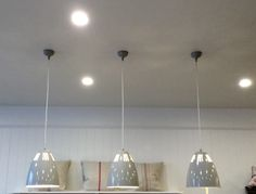 Cavendish vented pendant lights