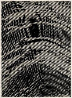 """Garth Weiser - Drawing 25, 2011 - Acrylic on paper - 30.25 x 22"""" / 76.8 x 56cm - Framed: 33.5 x 25.25"""" / 85 x 64cm Unique"""