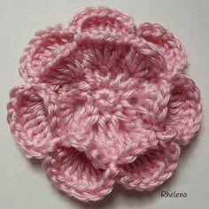 Floating Crochet Flower