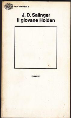 E la leggendaria edizione Einaudi con la copertina bianca