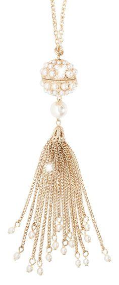 Bijou Brigitte  Kette - Perlenkugel