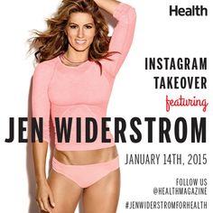 Check out Biggest Loser trainer Jen Widerstrom as she takes over the mag's Instagram tomorrow! Get ready for some serious inspiration. | Health.com