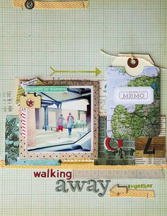 deb duty {photography + scrapbooking}: central high layouts