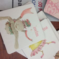 Cute girls flash cards, love the illustrations... Found at I'm Just Sayin Gifts at Broadway & Waterloo in Edmond, OK