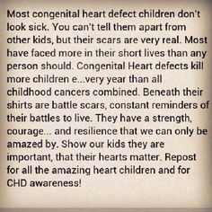 HRHS--My sweet daughter!  CHD Awareness!
