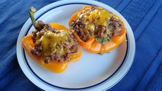 These stuffed peppers are moist, juicy and delicious! They'd make an elegant presentation for a dinner party, but easy enough for a weeknight dinner. The beefy onion soup mix really elevates the flavor of the stuffing. Side Dish Recipes, Meat Recipes, Recipies, Dinner Recipes, Florentine Cookies, Really Good Stuff, Stuffing Mix, Onion Soup Mix, Fast Dinners