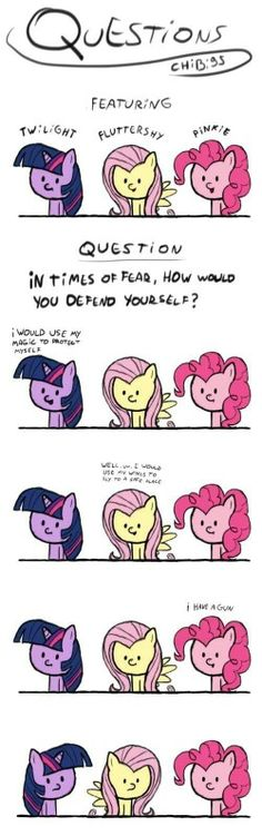 Don't mess with pinkie pie