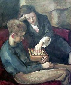 Untitled (Chess Game) / Henry Vernum Poor
