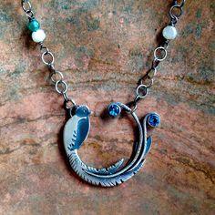 Julianne Van Buskirk Sterling silver, London Blue topaz