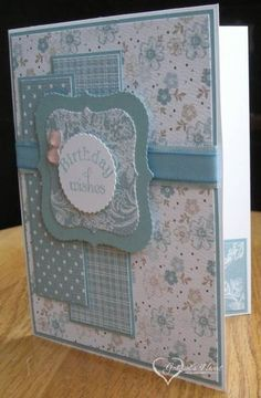 Parisian Breeze Birthday by darbaby - Cards and Paper Crafts at Splitcoaststampers