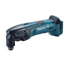 The Makita 18 volt cordless multi tool body features a hex wrench holder and variable speed control dial and allows Makita accessories to be installed at increments across Wrench Holder, Dust Extractor, Speed Drills, Hex Wrench, Light Works, Hammer Drill, Impact Wrench, Impact Driver, Drill Driver