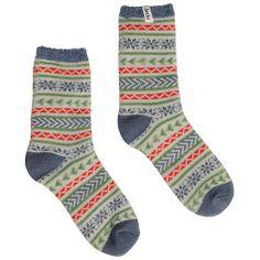 Buy Seasalt Frosty Cadet Cabin Ankle Socks, Multi Online at johnlewis.com