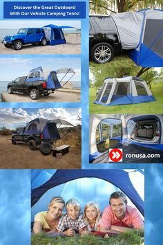 Discover the Great Outdoors with our Camping Tents for Jeeps/ SUV's/ Minvans. Quick and easy setup. #tents #campingtents