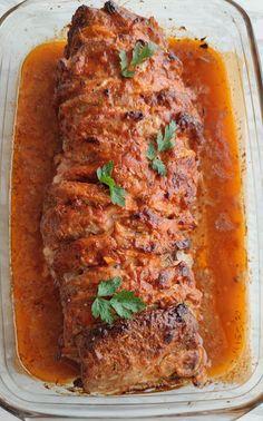 Meatloaf, Pork, Food And Drink, Dishes, Recipes, Gastronomia, Biscuits, Kale Stir Fry, Tablewares