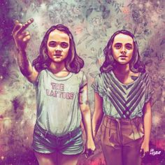 Fabian Ciraolo.   Looks like Jenny and Marie.  Guess which one is Marie.