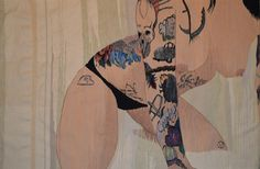 Erotic Tapestries Put a New Spin on Nude Self-Shots | The Creators Project