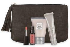 Some nice GWPs on Laura Mercier! At Macy's Receive a Complimentary 5-Pc. Gift with $75 Laura Mercier purchase. Gift includes Foundation Primer, Lip Glacé, Tinted Moisturize, Mega Moisturizer and Cosmetics Pouch.  And, choose a FREE Cosmetics Bag with $65...