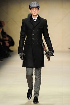 Impeccable tailoring - Burberry Fall 2012