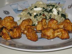 I love yogurt based marinades for chicken; they seal in the moisture well. I found this one while browsing for recipes for ZWT 2006 - African/Middle East region.