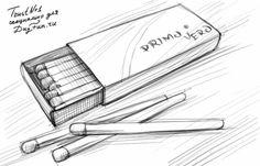 Как нарисовать коробок карандашом поэтапно 4