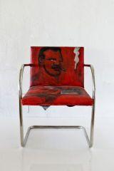 Untitled (Tubular Brno chair) ROBERT LOUGHLIN (AMERICAN, 1949–2011)  LUDWIG MIES VAN DER ROHE (GERMAN, 1886–1969)  KNOLL INTERNATIONAL (AMER...