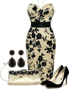 Black & Cream