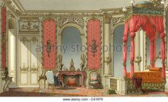 18th Century Baroque Interior Stock Photos & 18th Century Baroque ...