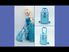 HAND MADE Дорожный чемодан для куклы