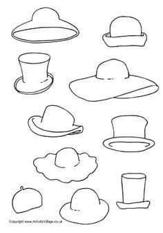 printable hats - Google Search