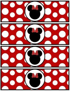 Minnie Mouse printables, for more than one purpose