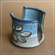 "Pottery ""Spongette"" - Kitchen sponge holder - Sink top sponge holder - IN STOCK. $15.00, via Etsy."