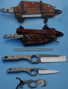 knife set- love the multi use idea, but question the weight for every day carry.