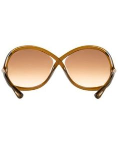 e817c272a9dec8 Tom Ford Whitney Sunglasses, FT0009 - Brown Tom Ford Whitney Sunglasses, Sunglasses  Women Designer