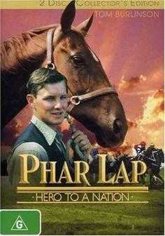 Famous Racehorses Movies   phar lap region 4 phar lap was a famous australian race horse in the ...