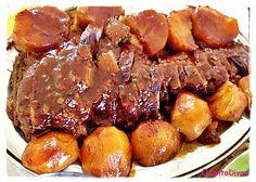 Feriado dá uma preguiça às vezes de fazer algo mais elaborado para o almoço. Aqui vai uma sugestão de uma carne bem saborosa e fácil ...